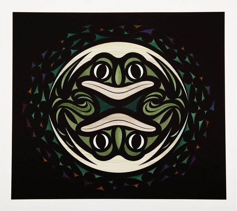 Native Art Frog Print