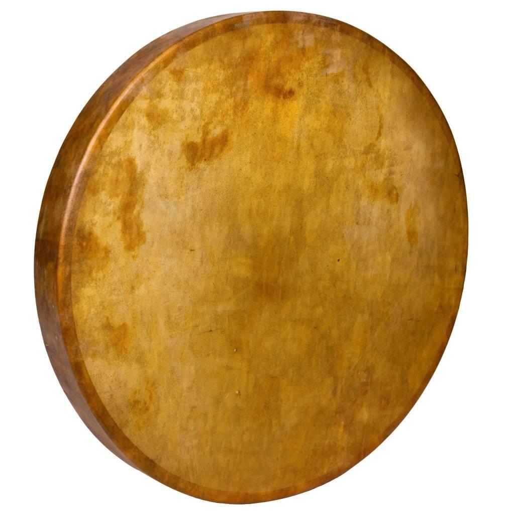 """Unpainted 26"""" Native Seal Drum."""