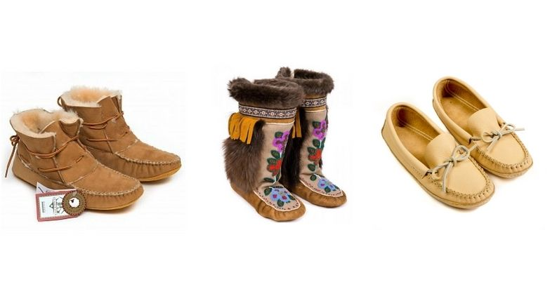 Get Ready for Fall with Our Canadian-Made Aboriginal Moccasins
