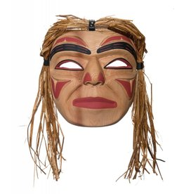 Young Warrior mask by Emil Thibert