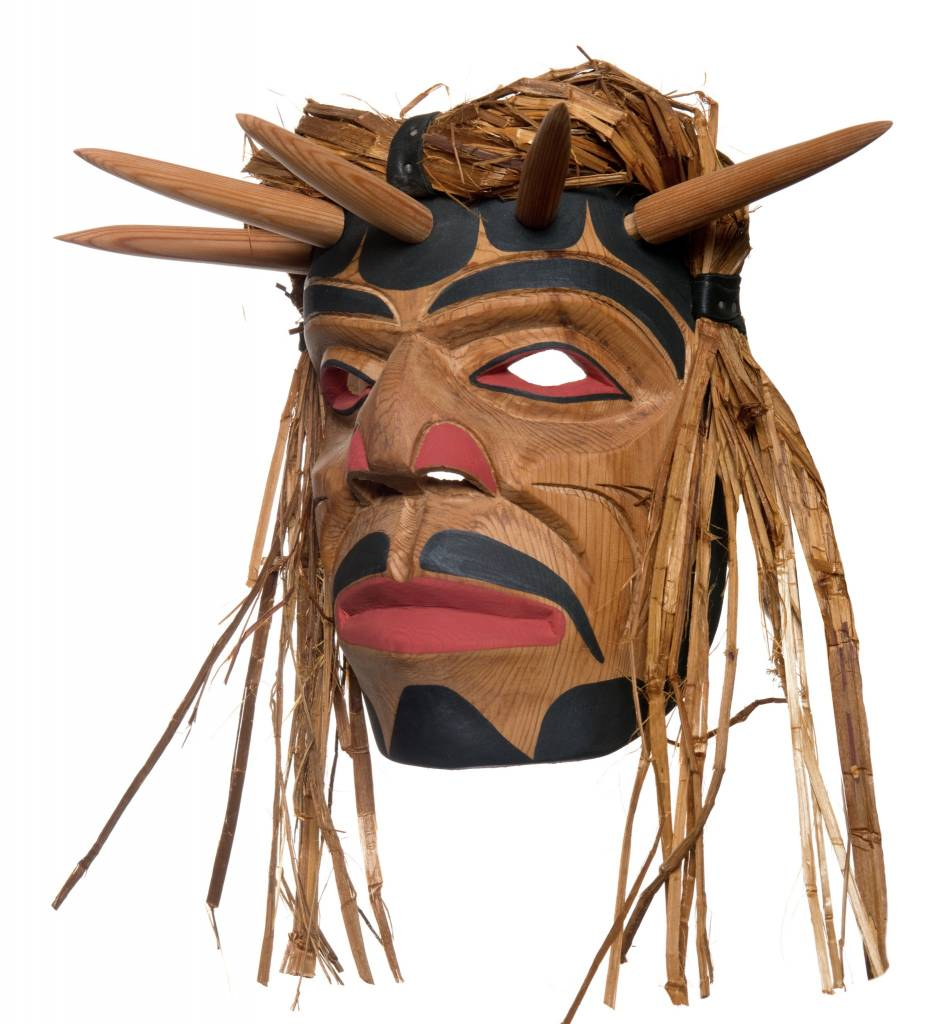 Shaman Mask by Emil Thibert