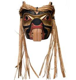 Beaver Mask by Emil Thibert