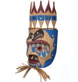 Chief portrait Mask by Russel Tait (Ditidaht).