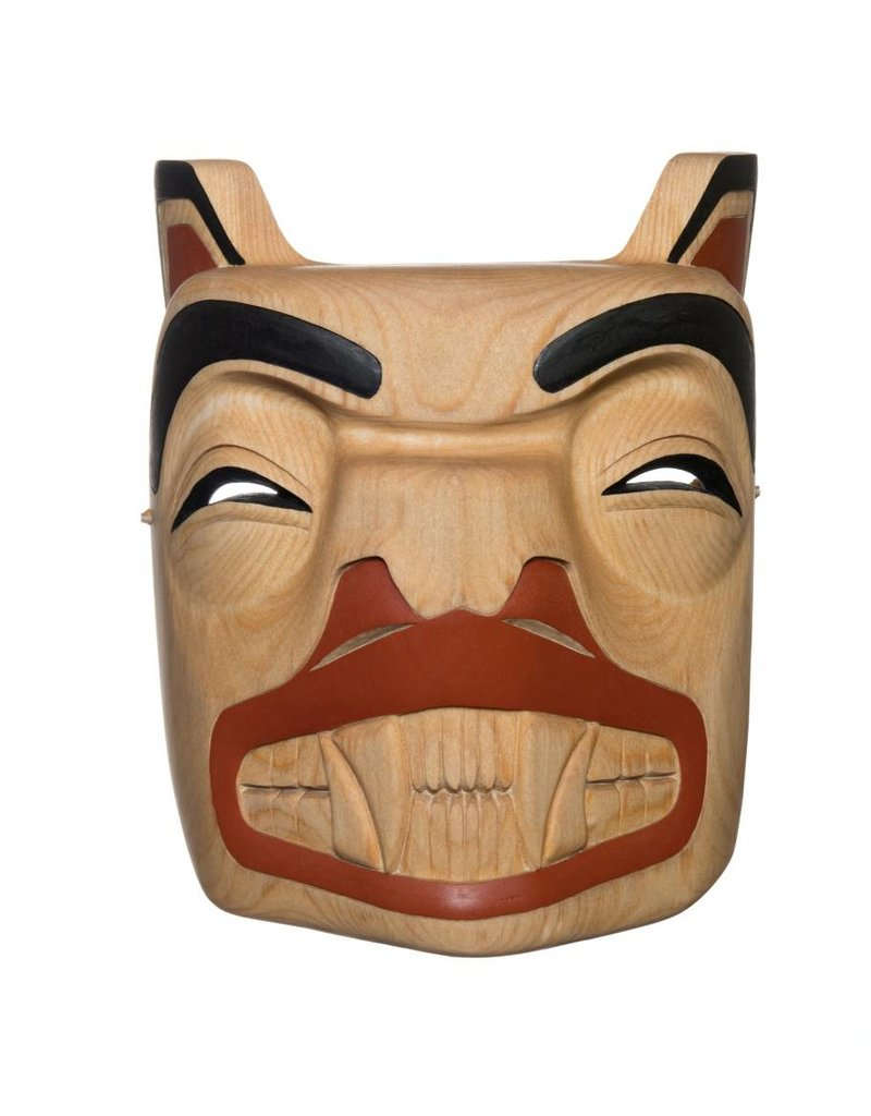 Bear Mask by Rick Wesley (Gitxsan).