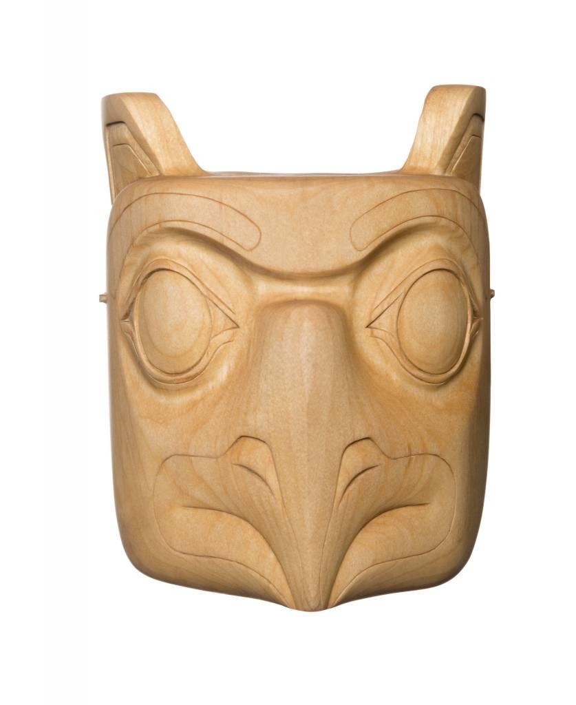 Owl Mask by Rick Wesley (Gitxsan)
