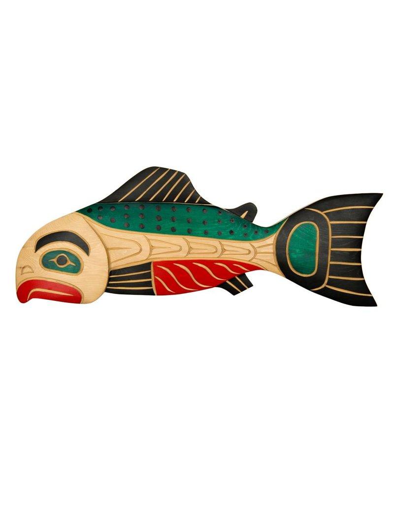 Coast Salish Salmon by John Spence (Squamish).