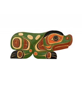 Small Frog Carving by Sammy Dawson