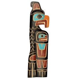 Thunderbird plaque by Cody Mathias (Squamish).