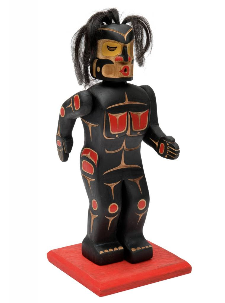 Dzunukwa Figure by Gord Hill