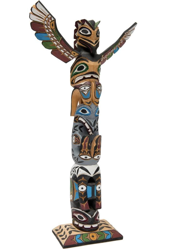 "26"" Totem Pole by Rita William"