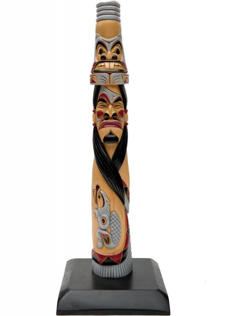 "28"" pole by John Joseph (Squamish)."