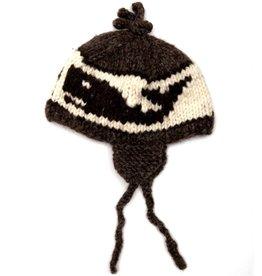 Cowichan Toque Hat w Ear Flaps or fancy or helmet