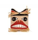 Beaver Mask by Russel Tate (Ditidaht).