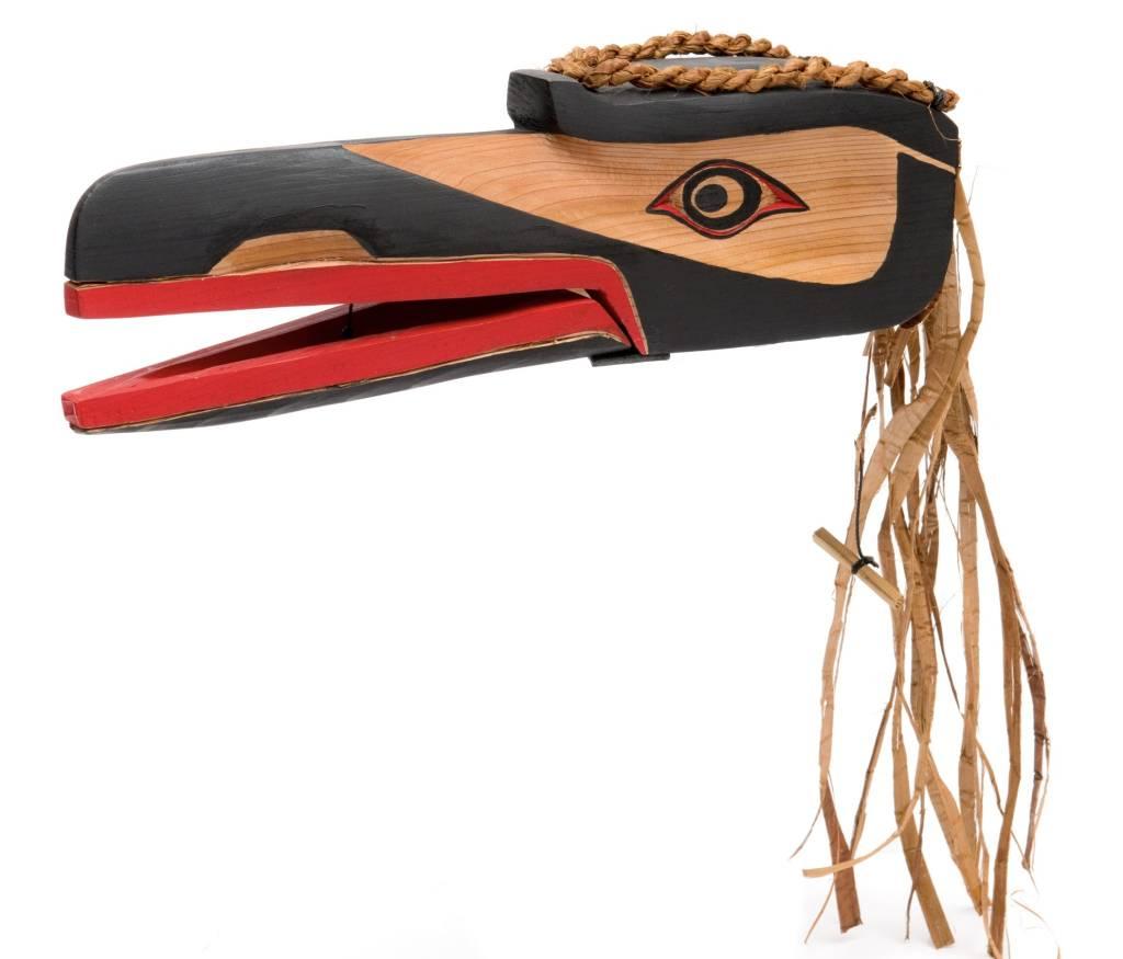 Raven Mask by Curtis Joe (Coast Salish)