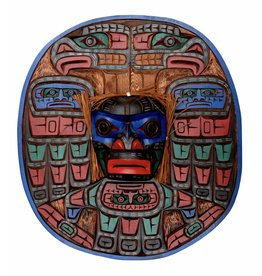 Moon Mask by Jimmy Joseph (Kwakwaka'wakw).
