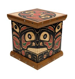 Bear, Raven Bent Box by Andrew Jackson Flatfoot