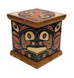 tsaw Bear, Raven Bent Box by Andrew Jackson Flatfoot