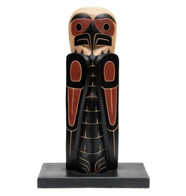 Small Eagle Totem Pole by David Louis Jr.