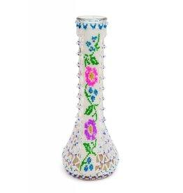 Medium Beaded Vase