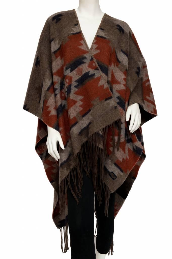 tsaw Woven Pendleton Blanket Shawl, Mountain Majesty