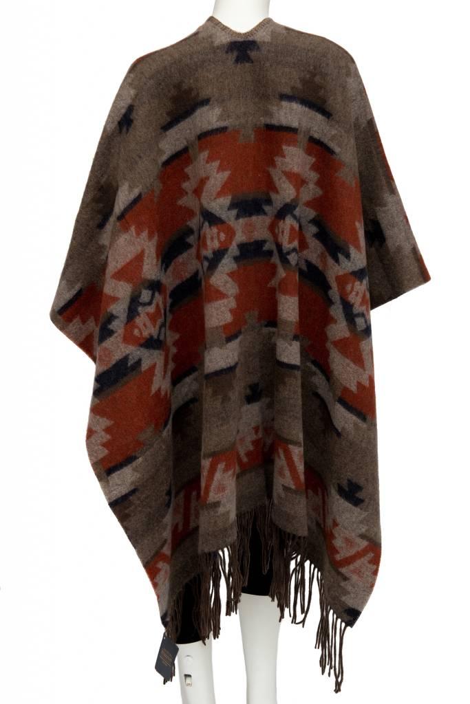 Woven Pendleton Blanket Shawl, Mountain Majesty