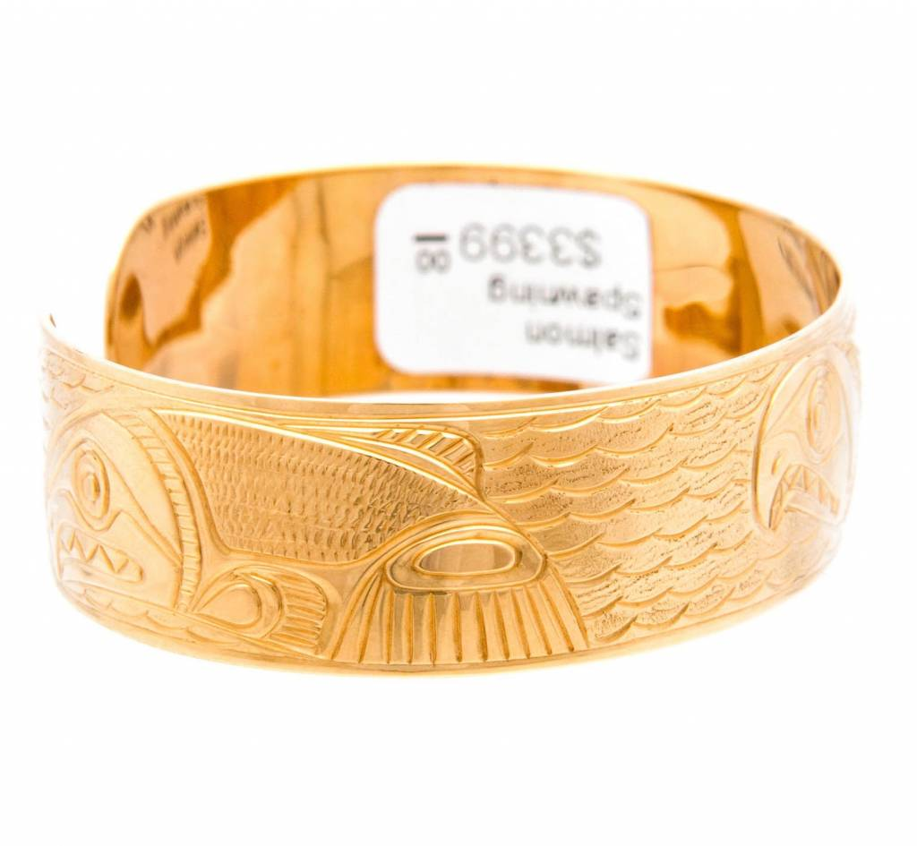 Spawning Salmon Bracelet by Charles Harper (Carrier)