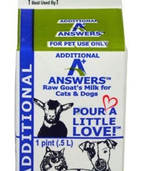 Answers Raw Goat Milk