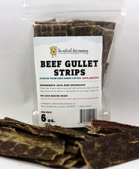 NATURAL DOG COMPANY Beef Gullet 6 OZ
