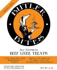 BUTLER BITES Butler Bites Beef Liver
