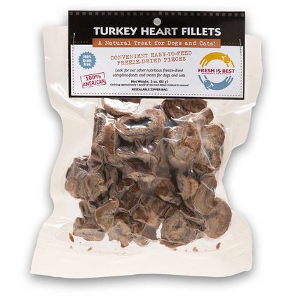FRESH IS BEST (COMPANION NATURAL) Turkey Heart Fillets 3 OZ