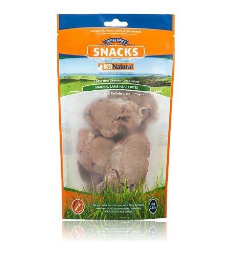 K9 Naturals Lamb Heart Snacks 2.82 OZ