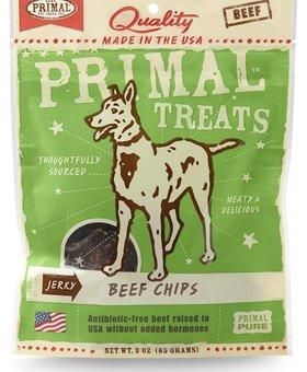PRIMAL PET FOODS INC. Primal Chip Treats 3 OZ