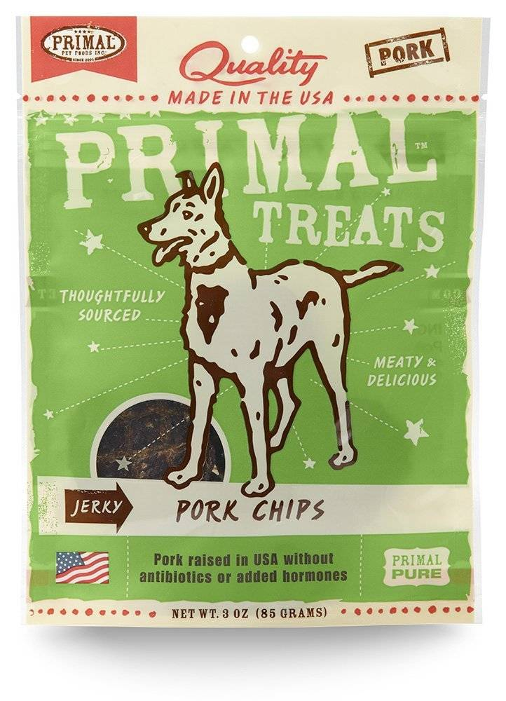 PRIMAL PET FOODS INC. Primal Chip Treats 3 OZ