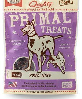 PRIMAL PET FOODS INC. Primal Nib Treats 4 OZ