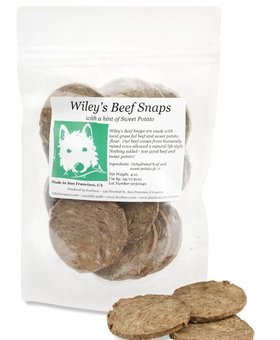 ECOPAWZ! Wiley's Beef Snaps 4 OZ