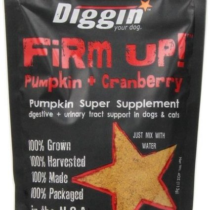 Diggin' Your Dog Firm Up! Pumpkin + Cranberry 4 OZ