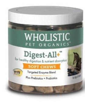 THE WHOLISTIC PET Wholistic Digest All Plus Soft Chews 120 CT