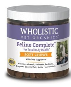THE WHOLISTIC PET Wholistic Feline Complete Soft Chews 150 CT