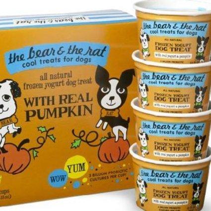 Frozen Yogurt w/Real Pumpkin 4 PK