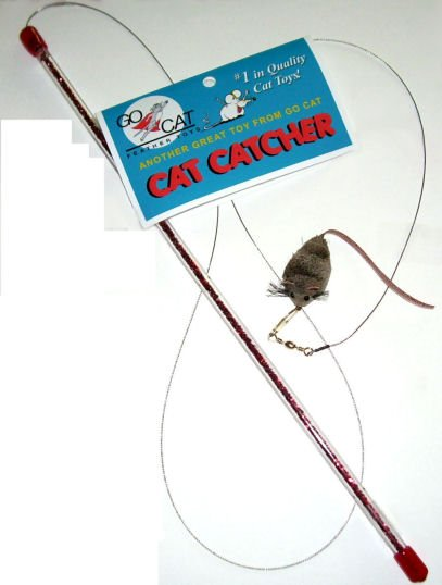 GO CAT FEATHER TOYS Go Cat Cat Catcher