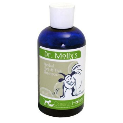 COASTAL HOLISTIC Dr. Molly's Mild Flea Shampoo for Cats & Dogs 8 OZ