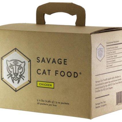 SAVAGE CAT FOOD Savage Cat Food