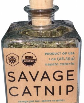SAVAGE CAT FOOD Savage Cat Catnip