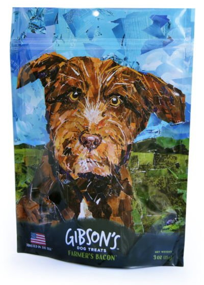 WILD MEADOW FARMS Gibson's Toasted Farmer's Bacon Treats 3 OZ