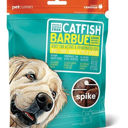 Spike Grain Free Catfish Jerky - 4.0 OZ
