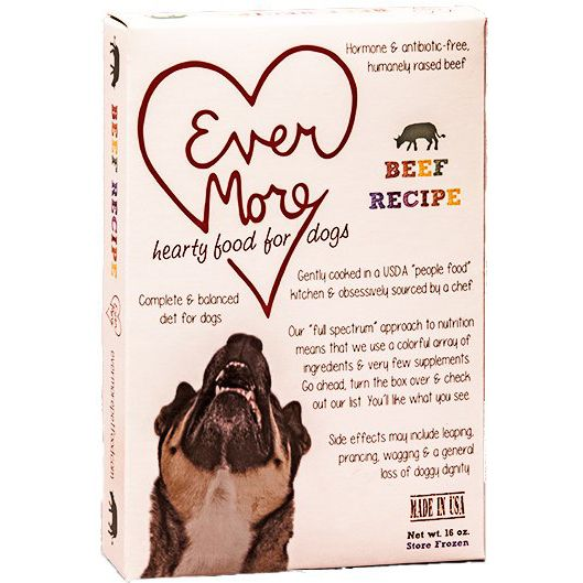 EVERMORE PET FOOD, INC Evermore Gently Cooked Dog Food