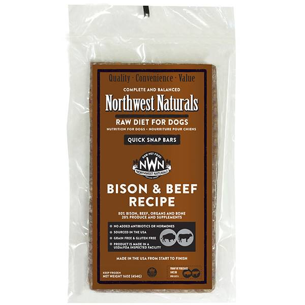 Northwest Naturals Raw Dinner Bar 1 LB