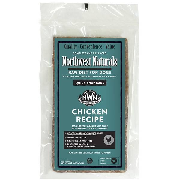 Northwest Naturals Raw Dinner Bar 1 LB