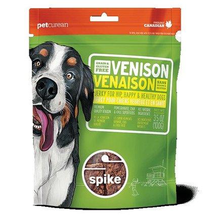Spike Grain Free Venison Jerky - 4 OZ