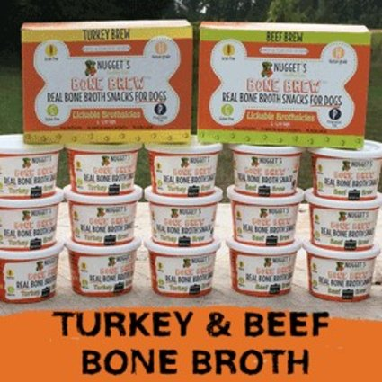 Nugget's Bone Brew Brothsicles